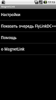 Screenshot of MagnetLink - DC++ support