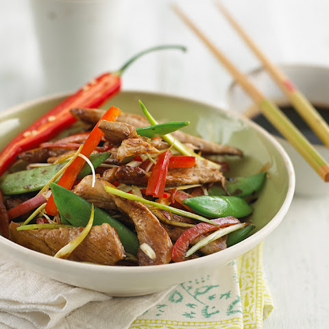 Chicken Stir Fry with Sugar Snap Peas