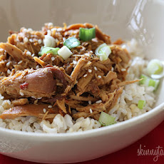 Crock Pot Sesame Honey Chicken