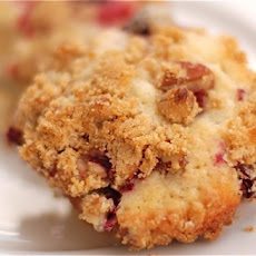 Jordan Marsh Cranberry Muffins with Pecan Streusel Topping