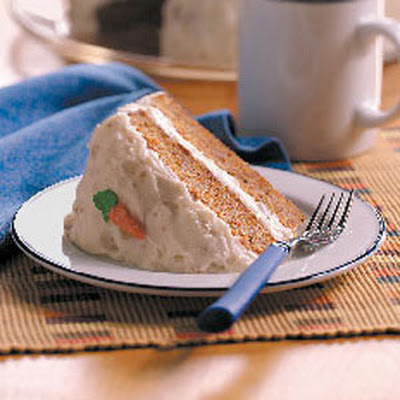 Old-Fashioned Carrot Cake with Cream Cheese Frosting