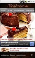 Screenshot of Ricette di cucina italiane