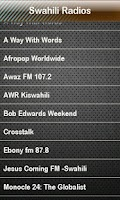Screenshot of Swahili Radio Swahili Radios