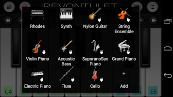 Screenshot of Cello Sound Plugin