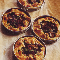 Red Cabbage and Onion Tarts