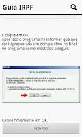 Screenshot of IRPF - Imposto de renda 2012