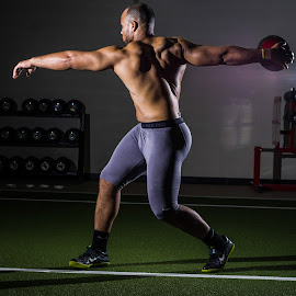 by Robert III - Sports & Fitness Other Sports ( training, track and field, discus, muscle, athlete )