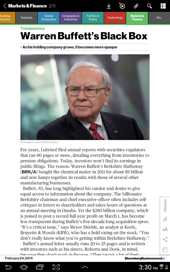 Bloomberg Businessweek+ Screenshot 9