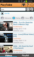 Screenshot of PlayTube for YouTube free
