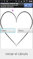 Screenshot of Prueba Amor