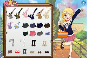 Screenshot of Anime School Uniforms