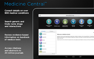 Screenshot of Medicine Central