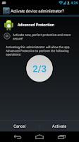 Screenshot of Advanced Protection ☞ AppLock