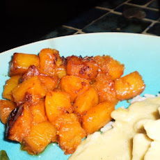 Spice-Crusted Roasted Butternut Squash
