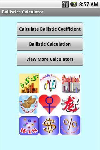 Ballistics Calculator