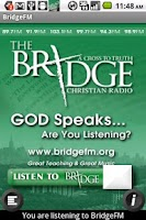 Screenshot of The Bridge Christian Radio