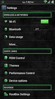 Screenshot of Stone Grunge Green CM11 Theme