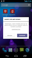 Screenshot of SFR Anti-spam+ (SMS et Appels)