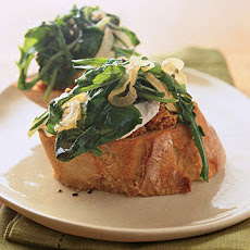 Summer Greens Bruschetta