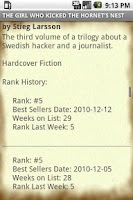 Screenshot of Best Selling Books