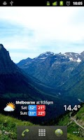 Screenshot of Weather Australia