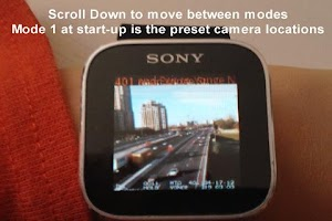 Screenshot of Augmented Traffic Smart Watch