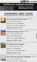 Screenshot of Hotel booking - HotZebra