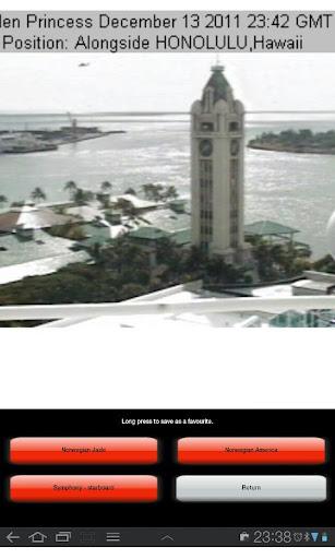 Cruiseship Cams - screenshot