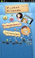 Screenshot of Pocket Friends (Cute widget)