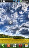 Screenshot of Airplane mode switcher(widget)