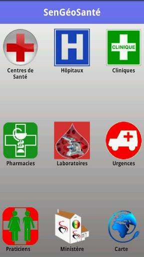 SenGeoSante Santé Sénégal