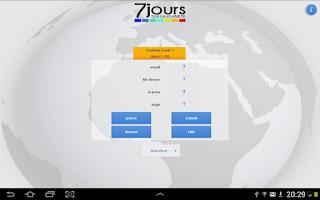 Screenshot of 7 jours sur la planète - Lite