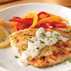 Pan-Fried Fish with Creamy Lemon Sauce for Two