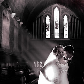 The Chapel by Martin Hill - Wedding Bride & Groom