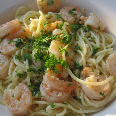 Ultimate Shrimp Scampi Linguini