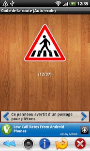 Screenshots  Code de la route (Auto ecole)