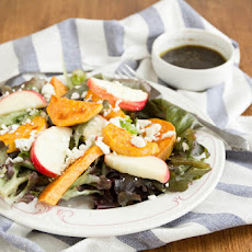 Roasted Sweet Potato and Apple Salad