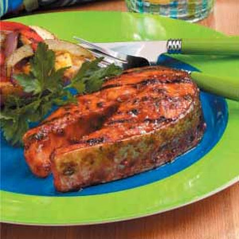 Firecracker Salmon Steaks
