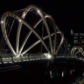 Bridge at Melbourne City by Melanie Chieng - Buildings & Architecture Bridges & Suspended Structures ( modern architecture, bridge )