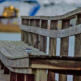 tui by Lasbi Naboj - Artistic Objects Other Objects ( naantali, bench, finland, lines, seasisde, landscape )