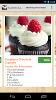 Screenshot of Kuchen backen Rezepte