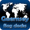 Guernsey flag clocks icon