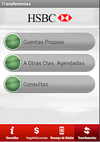 Screenshot of HSBC en tu Celular
