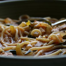 Asian Chili Chicken Noodle Soup