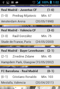 RMCF Goles - screenshot