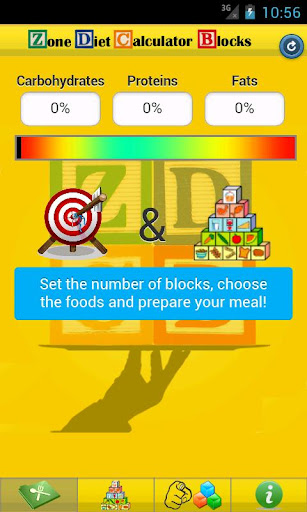 Zone Diet Calculator Blocks