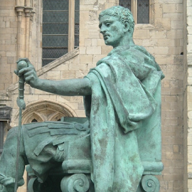 Constantine the Great by Jenny Linsel - Buildings & Architecture Statues & Monuments