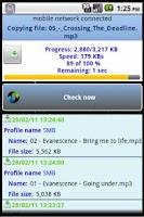 Screenshot of PCFileSync