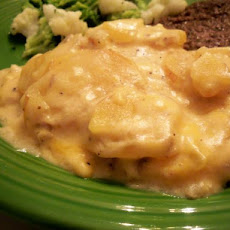 Cheesy Crock Pot Potatoes