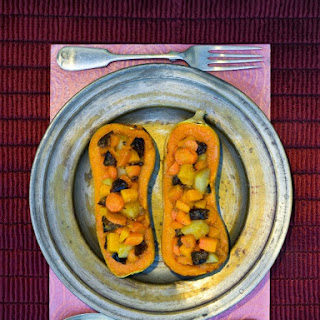 Tzimmes Stuffed Butternut